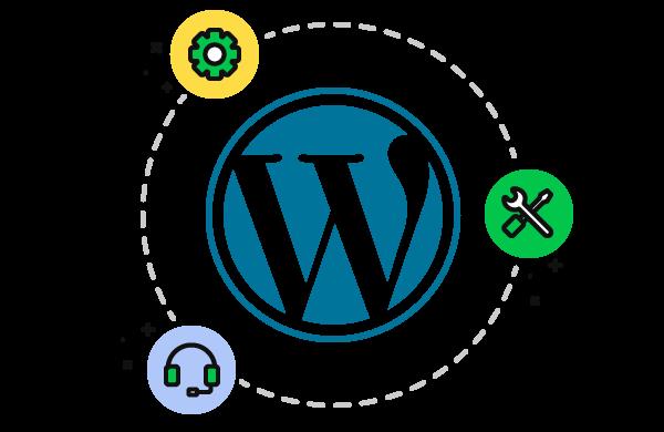 Готовый сайт на основе Wordpress